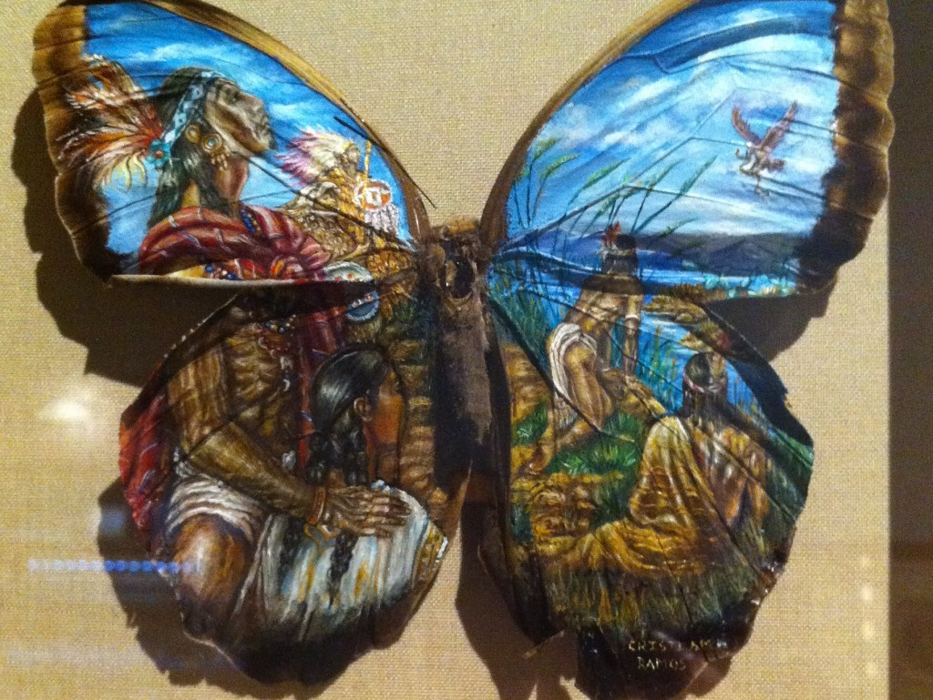 Painting on Butterfly Wings