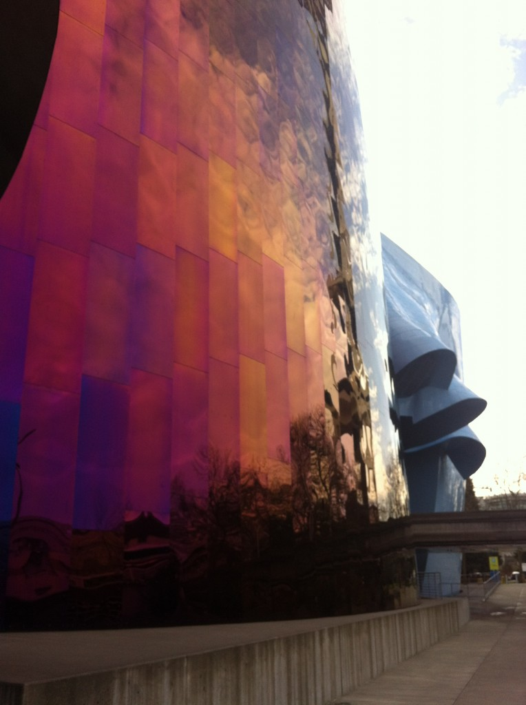 Front of EMP in Seattle