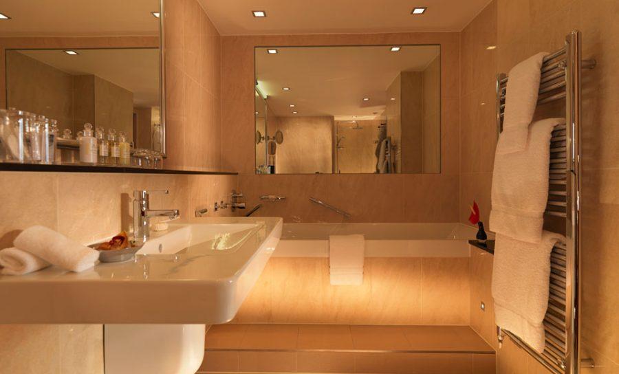 Bathroom at Royal Garden Hotel in London