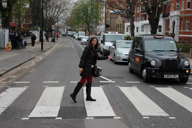 Annette White Abbey Road London