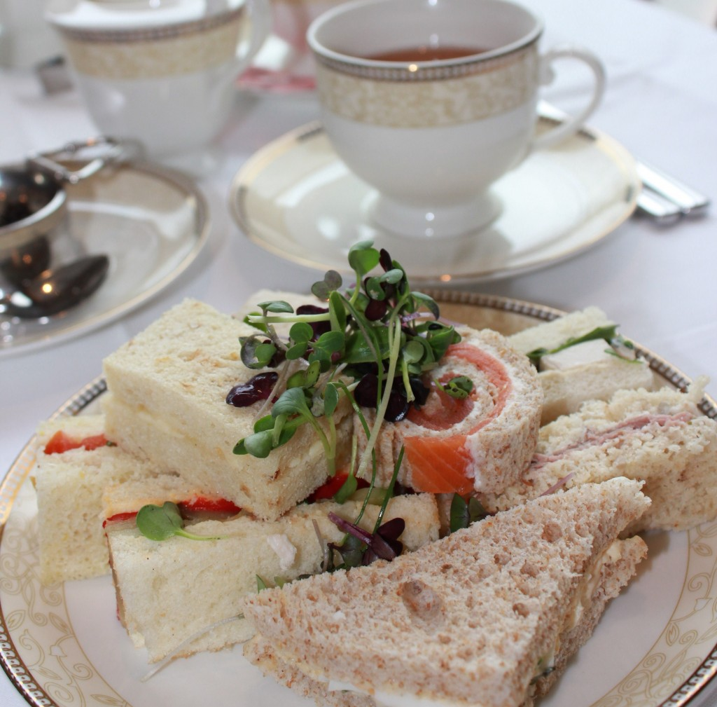 Tea Sandwiches at Afternoon Tea in London