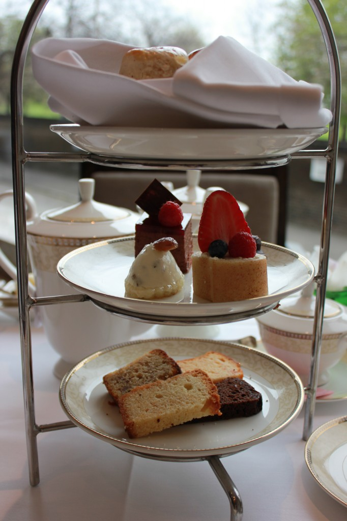 Sweets at Afternoon Tea in London