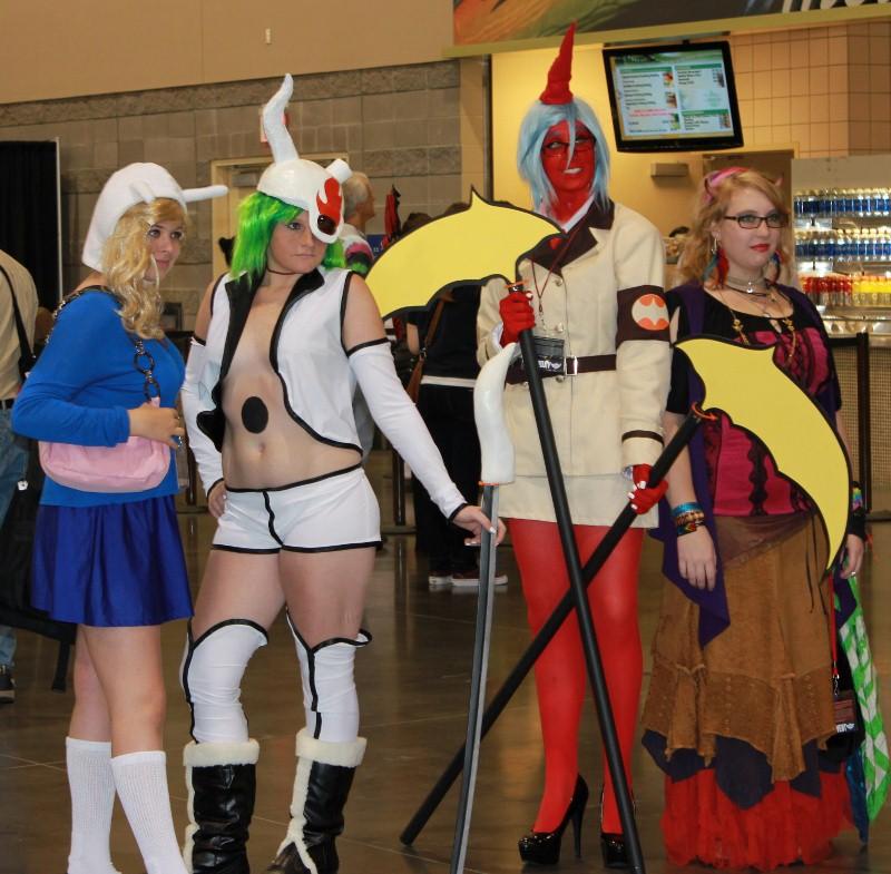 Sexy Phoenix Comic Con Costume