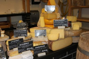 Cheese at London's Borough Market