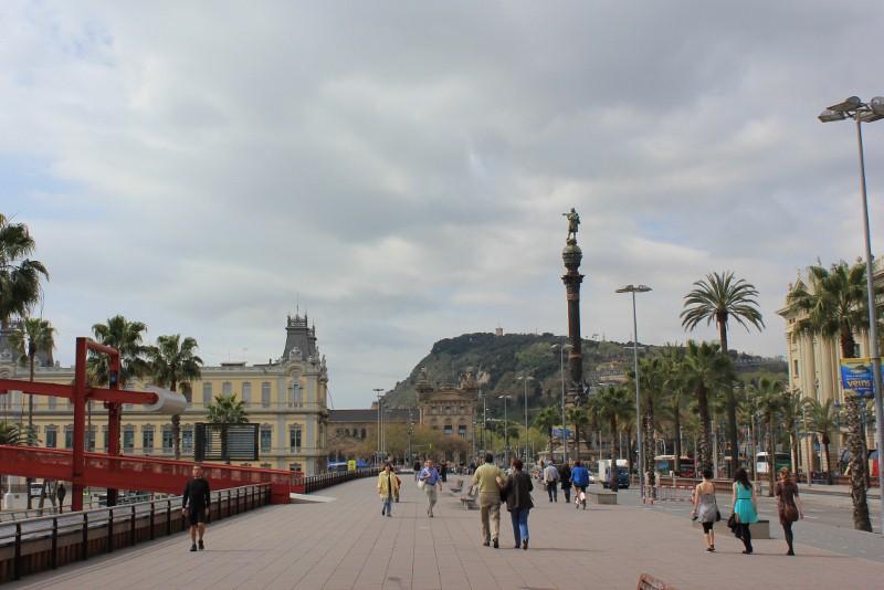 Barceloneta on Segway