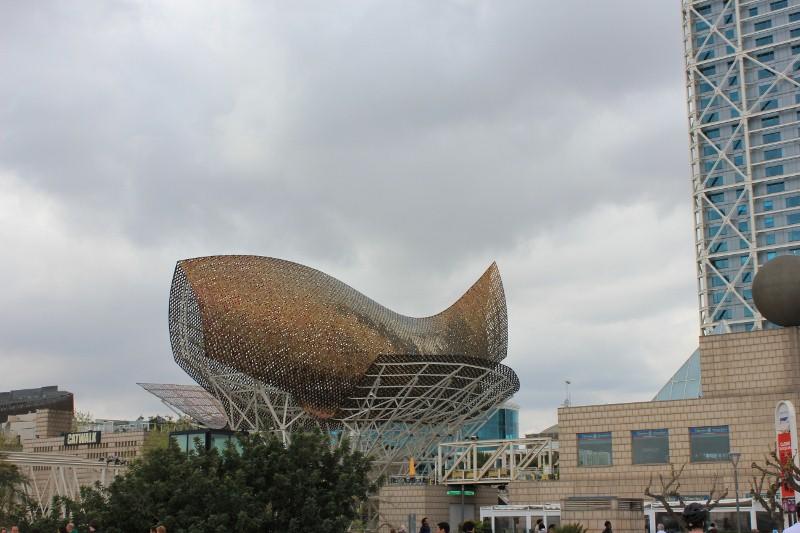 Goldfish Building in Barcelona