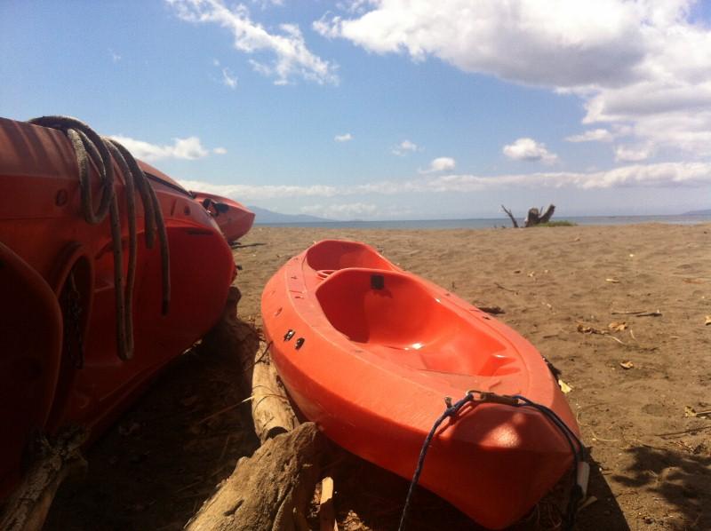 Kayaks in Olowalu