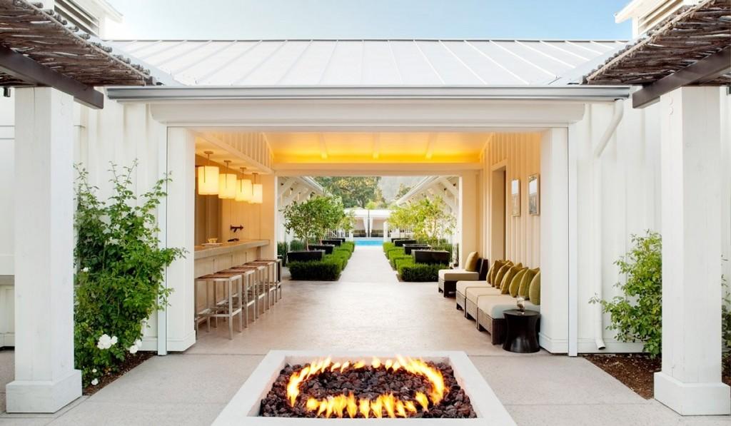 Solage Resort in Calistoga