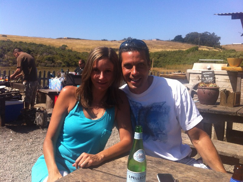 Annette White at Hog Island Oyster Farm in Tomales Bay