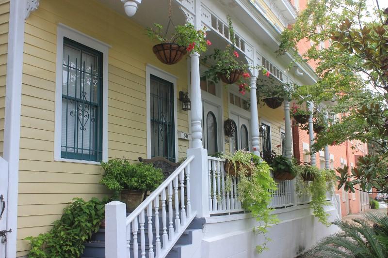 Green Palm Inn Porch