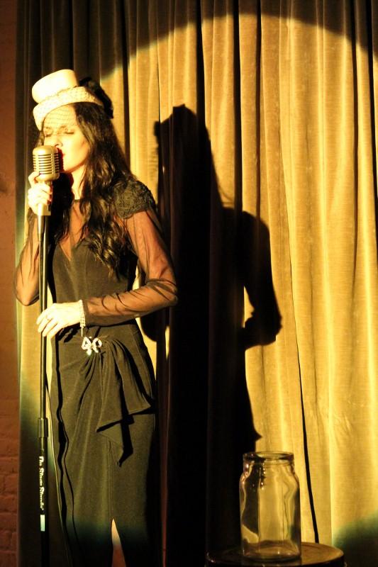 lounge singer at speakeasy