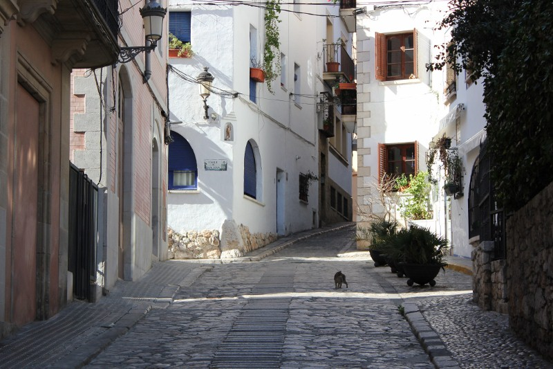 Streets of Sitges