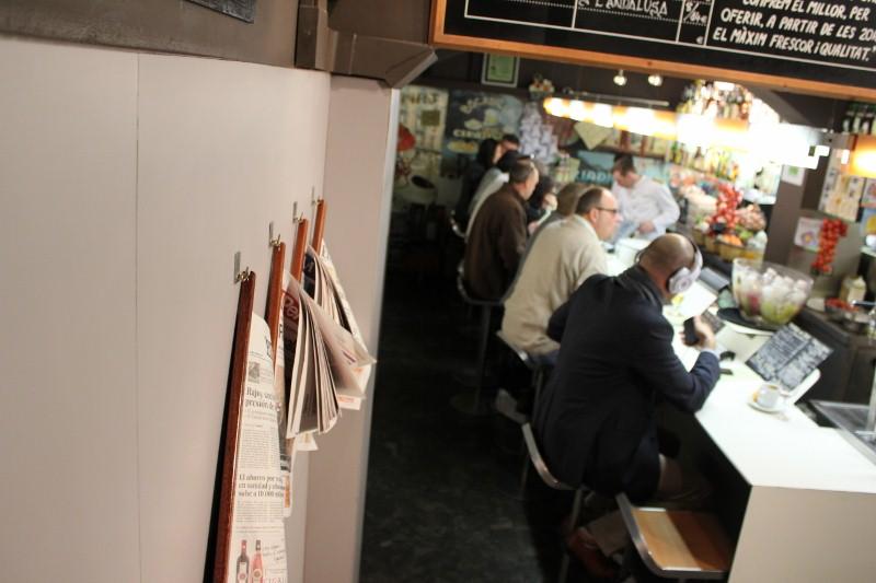 Tapas 24 Restaurant Interior