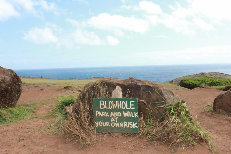 Nakalele Blowhole in Maui
