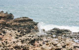 Nakalele Blowhole in Maui, Hawaii