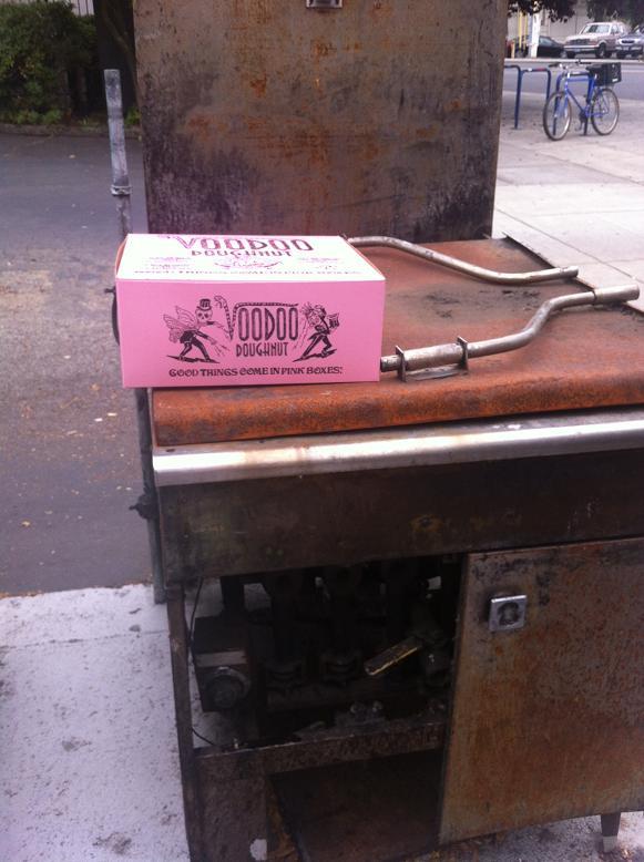 Voodoo Doughnuts Pink Box