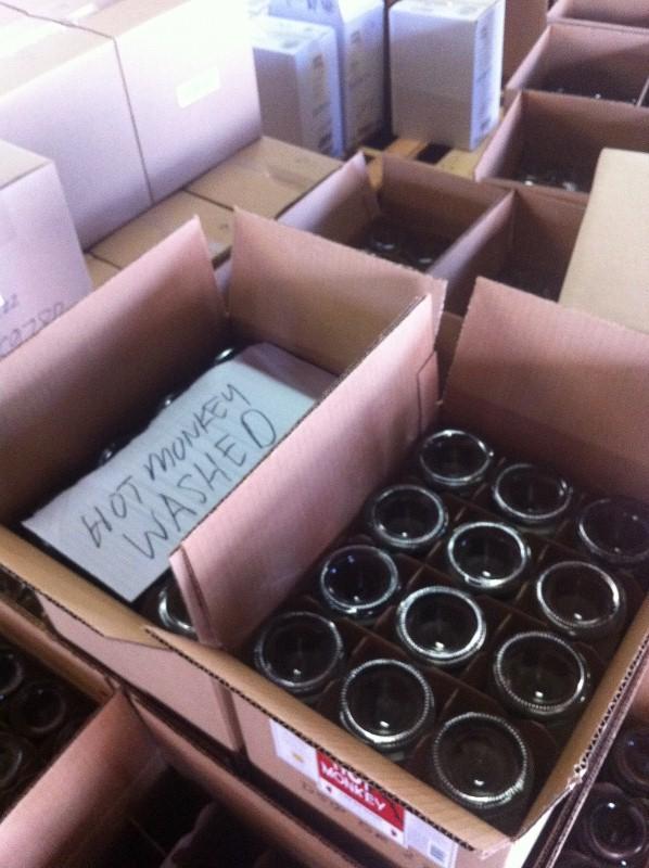 New Deal Distillery Empty Bottles