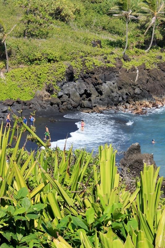 Waianapanapa black Sand Beach: One of the Best Road to Hana Stops on the Hawaiian Island of Maui