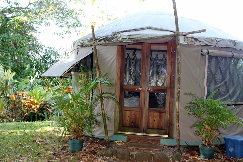 Yurt at Luana Spa Retreat