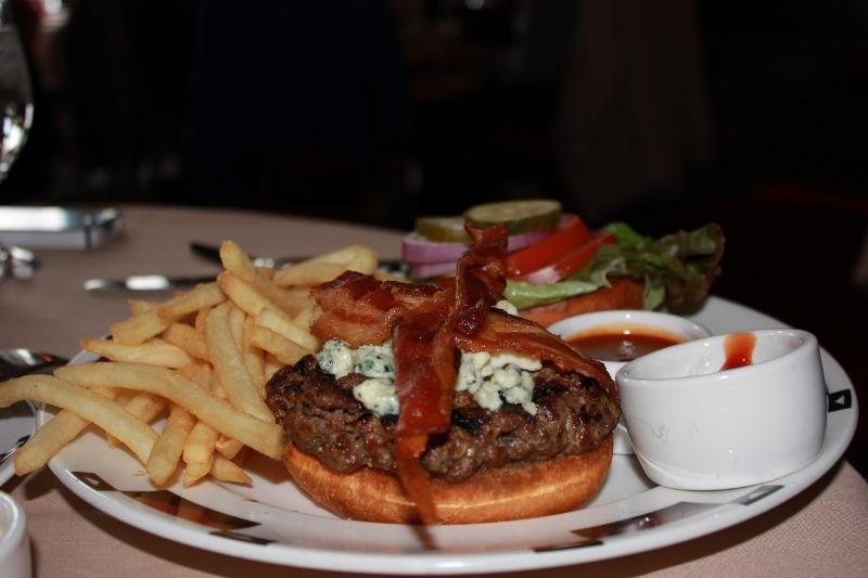Awahnnee Lodge Burger