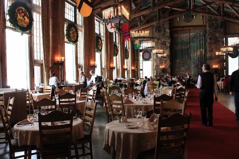 Yosemite Restaurants Dining Room