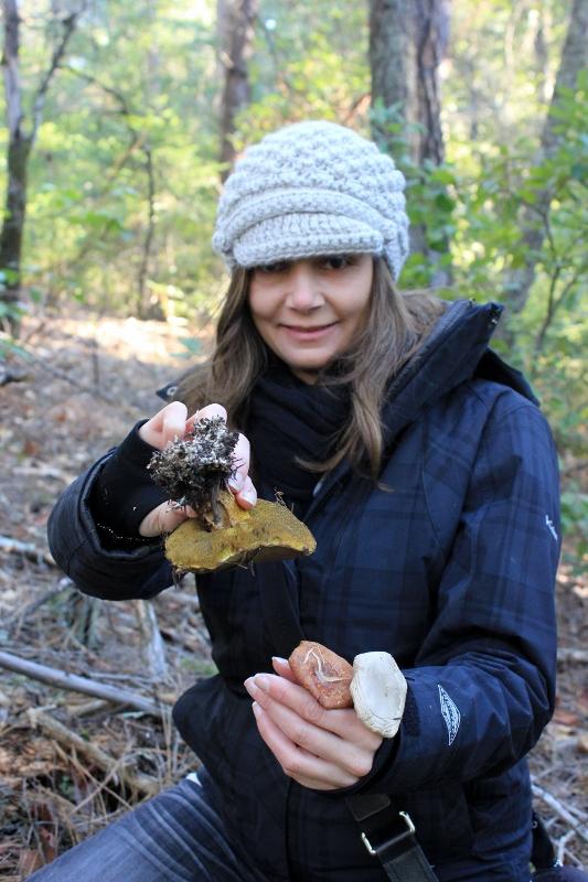 Annette White Wild Mushroom Hunting