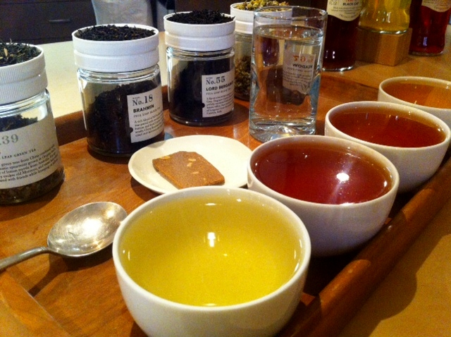 Tea Tasting Cups at Portland's Steven Smith Teamaker