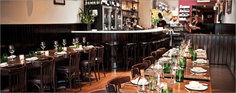 SPQR Restaurant Interior