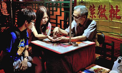 Hong Kong Itinerary Fortune Teller