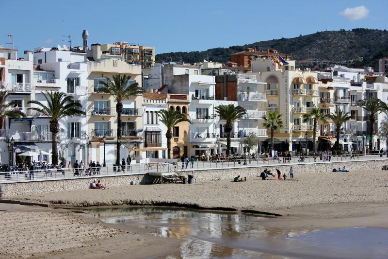 Sitges Spain Beach