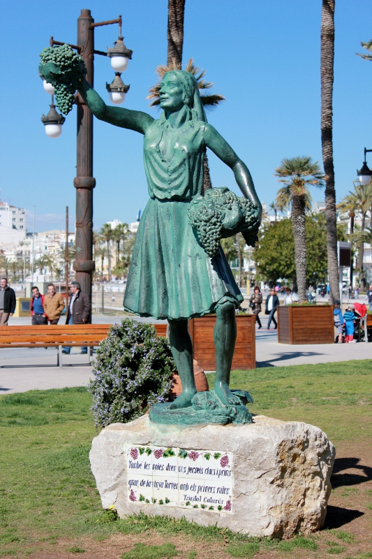 Statue in Sitges