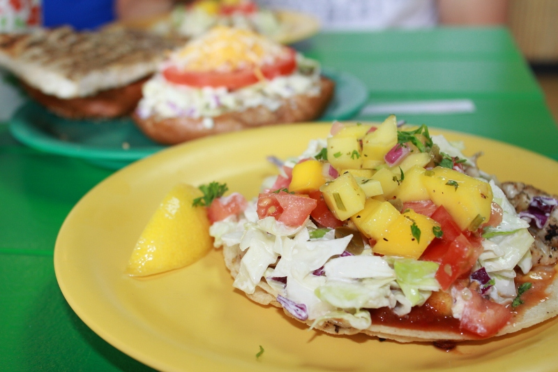 What to do in Maui: Eat Fish Tacos from Coconuts