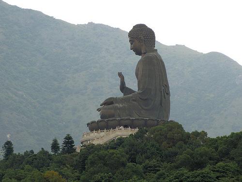 Tian Tan Big Buddha in Hong Kong