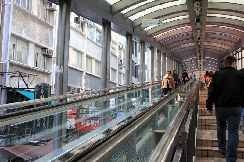 Longest Escalator in the World Mid-Level