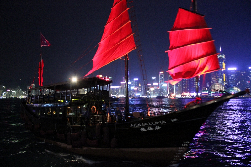 Hong Kong Bucket List: Best Things to Do & Top Places to Visit; Ride on a Junk Boat