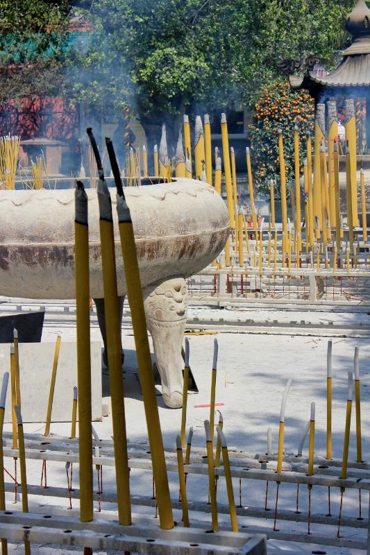 Incense at Po Lin Monastery