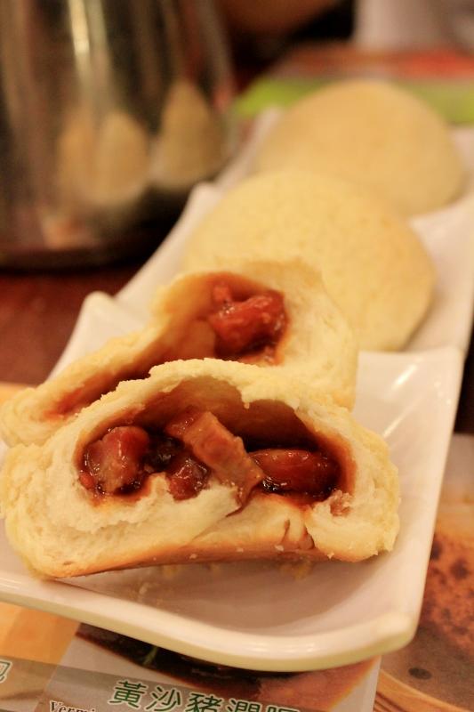 BBQ Pork Bun at Tim Ho Wan