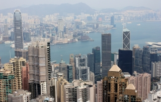 Hong Kong's The Peak View