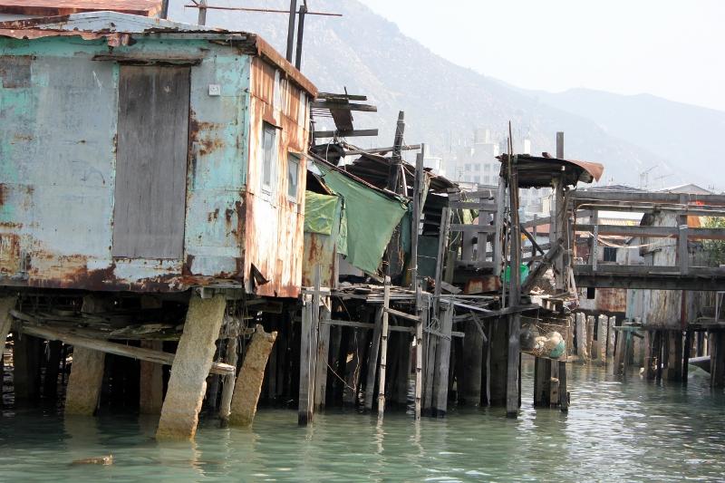 Hong Kong Tai O Fishing Village