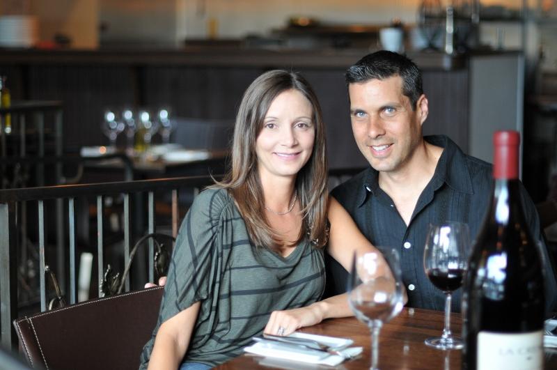 Restaurateur Annette White & Peter