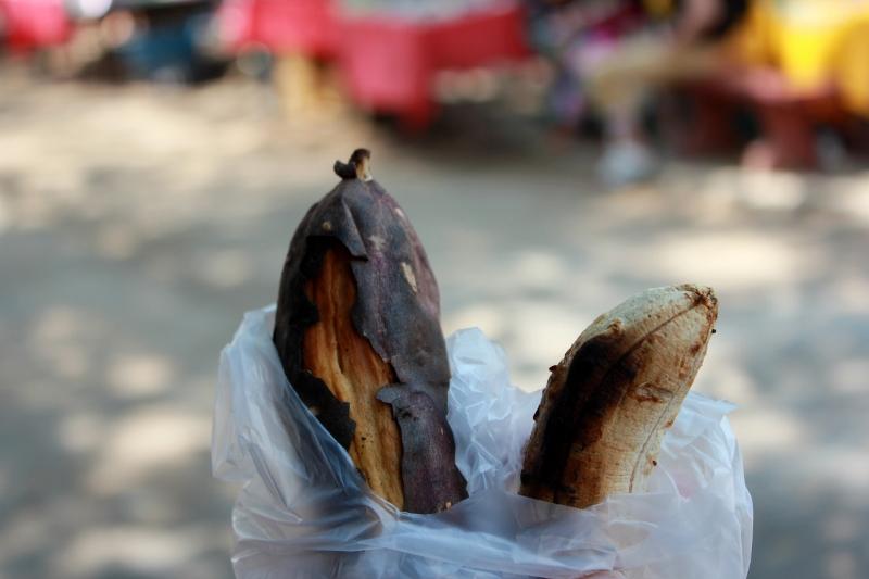 Street food in Laos