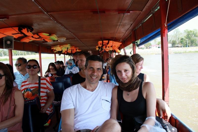 Annette White in Laos