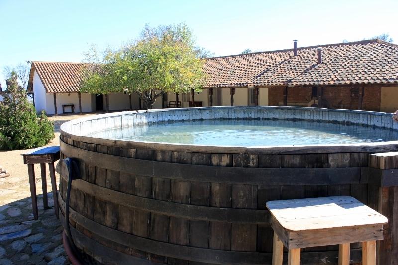 Hot Tub at J. Bouchon