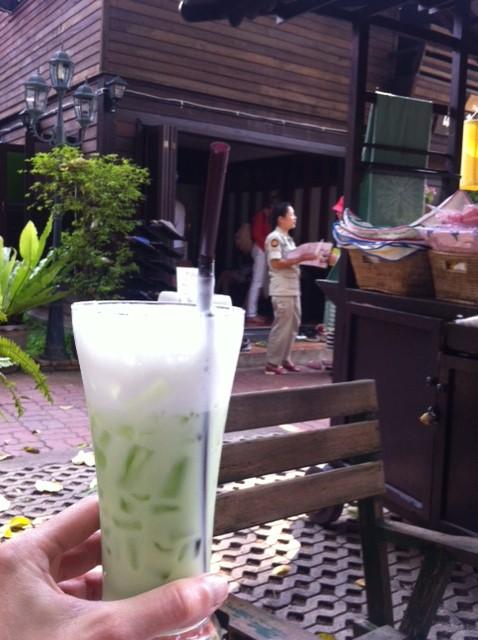 Green Thai Tea Womens Prison in Chiang Mai