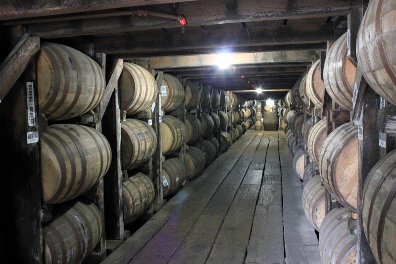 buffalo trace bourbon barrels