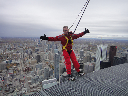 CN Tower Edgewalk in Toronto