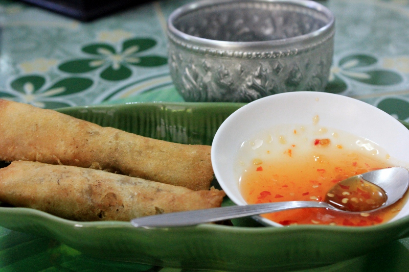Cooking Spring Rolls