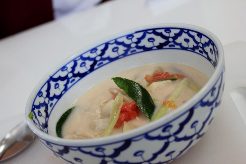 Coconut Milk Soup