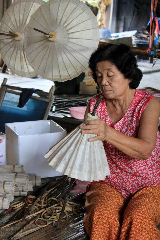 Umbrella Factory Chiang Mai Thailand