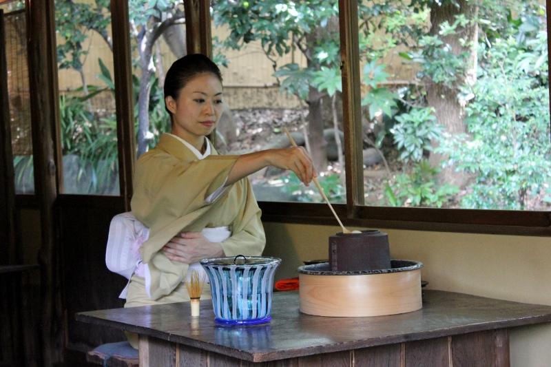 Japanese Tea Ceremony at Happo-en